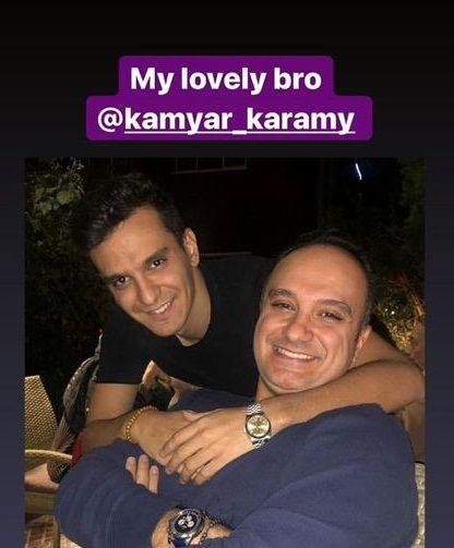 شباهت بامزه احسان کرمی و برادرش+عکس