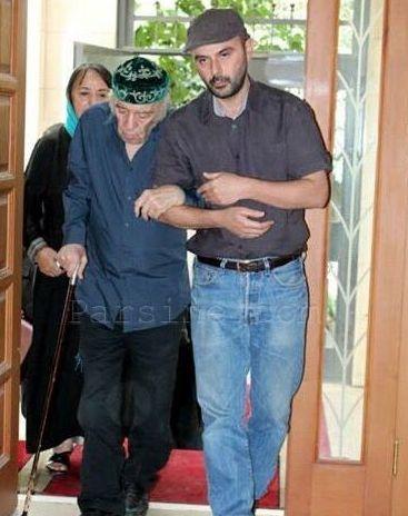علی مصفا و پدر بزرگوار و توانایش+عکس