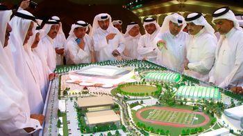 فینال جام جهانی فوتبال قطر در شهری که هنوز ساخته نشده! + عکس