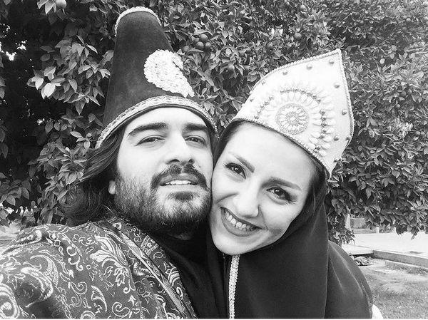 پیانسیت مشهور ایرانی و همسرش + عکس