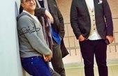 رامبد جوان در کنار دوستان خواننده اش + عکس