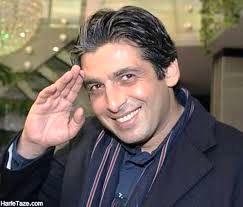حمید گودرزی در کنار صادق ترین انسان ها/عکس