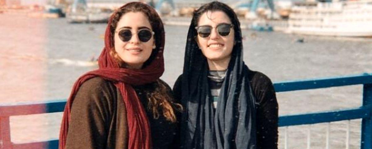 شباهت عجیب فاطیما بهارمست و دوستش + عکس