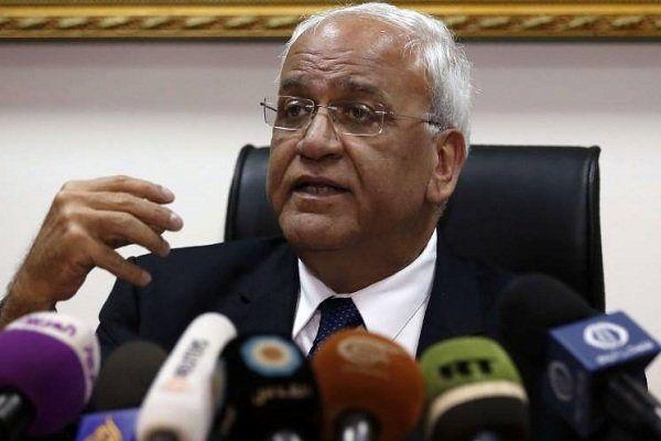 واکنش «صائب عریقات» به انتقال سفارت آمریکا به قدس