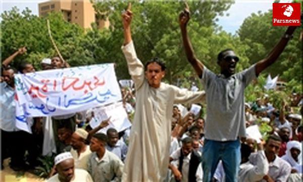 تظاهرات دارفوریها در اعتراض به ادامه خشونتها در غرب سودان