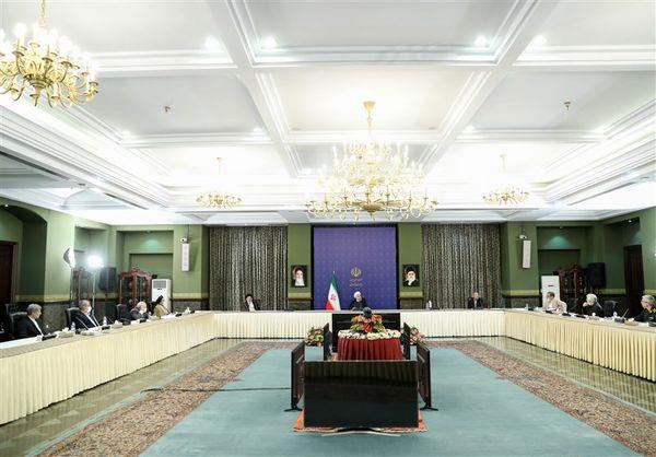 تصاویر جلسه شورایعالی امنیت ملی با حضور سران قوا