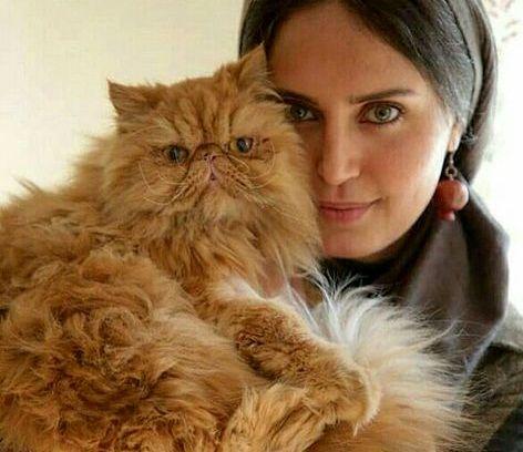 الناز شاکردوست و حیوان خانگی تپلی اش+عکس