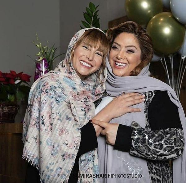 حال خوب فریبا نادری و مریم سلطانی + عکس