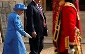 رد شدن ترامپ از خطوط قرمز ملکه الیزابت+عکس