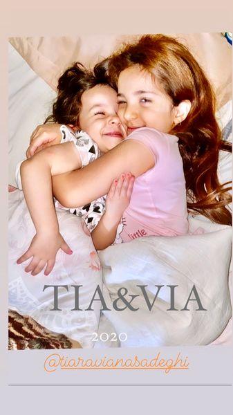 دختران کوچولوی خواننده معروف + عکس