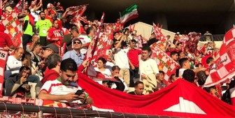 طرفداران سبیلوی برانکو در ورزشگاه آزادی+عکس