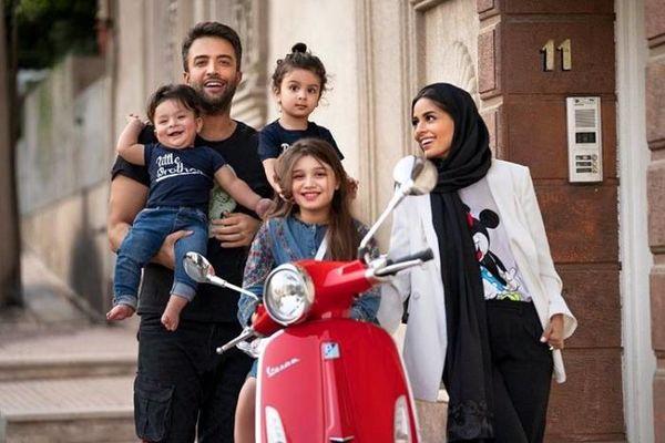 تمام خانواده بنیامین بهادری + عکس