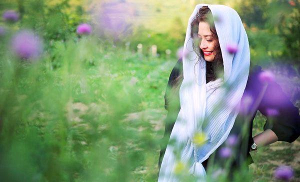 عکس خوش آب و رنگ مهراوه شریفی نیا