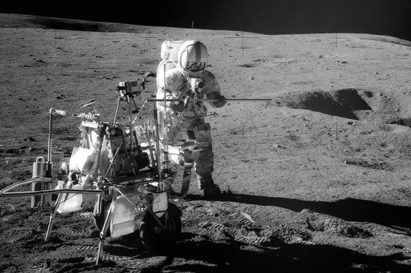 کشف سنگ ۴ میلیارد ساله زمینی در ماه!