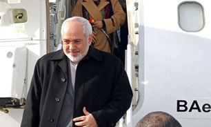 وزیر امور خارجه کشورمان وارد لندن شد