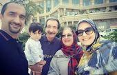 عکس خانوادگی نیما کرمی
