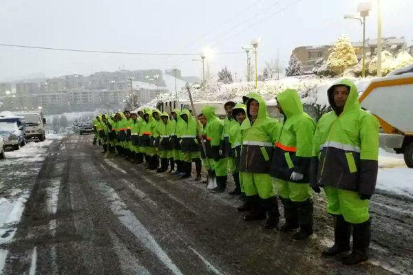 آمادگی ۱۶۲ سایت برف روبی و ۳سایت پشتیبان مجهز به تجهیزات لازم