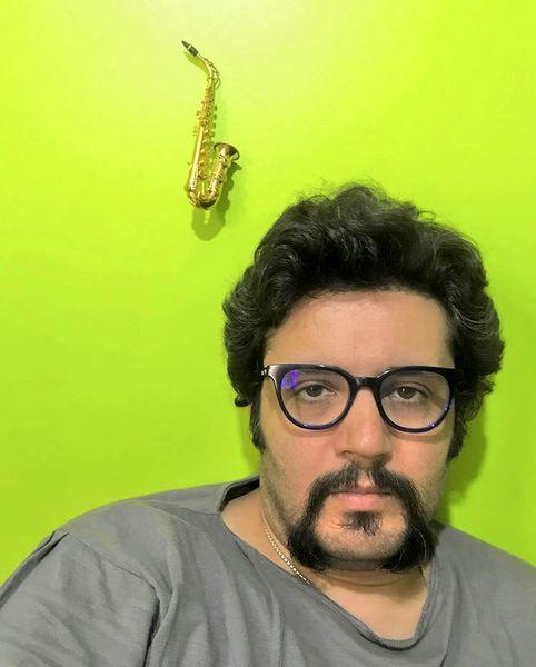 چهره بی حوصله مهران رنجبر + عکس