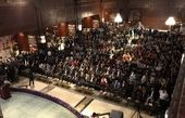 جمع آوری بیش از 25 میلیارد و سیصد میلیون ریال کمک مردمی در گردهمایی اکران فیلم تختی در بازار بزرگ ایران