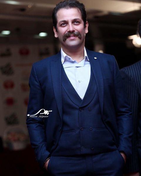 سیبیل های سلطانی آقای بازیگر + عکس