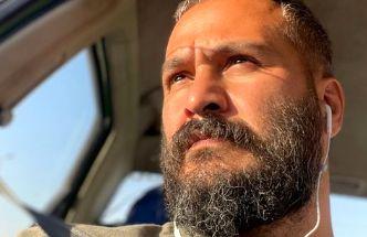 سلفی میلاد کی مرام در ماشینش + عکس