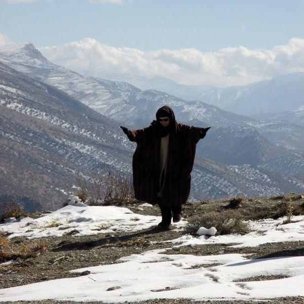 تولد افسانه بایگان در ارتفاعات زاگرس در حال پرواز+عکس