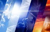 وضعیت آب و هوا در ۱۰ اسفند ماه