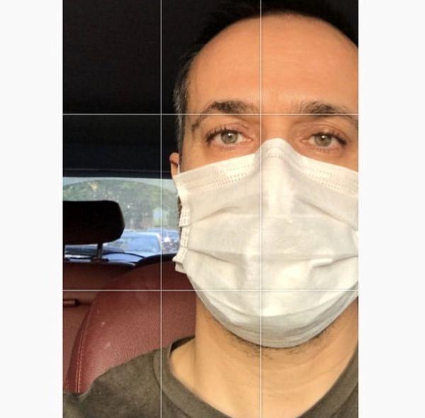 احمد مهرانفر در ماشینش + عکس
