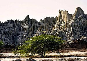 قرار گرفتن کوههای مریخی در منطقهای از ایران + فیلم