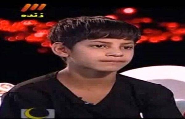 علت خودکشی رضا کودک کار برنامه ماه عسل +فیلم