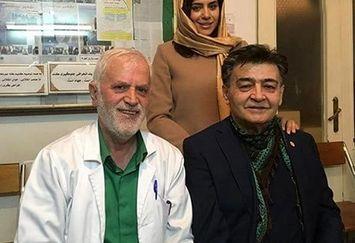 رضا رویگری و همسرش در مطب دکترشان+عکس