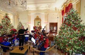 کریسمس در کاخ سفید/ تصاویر