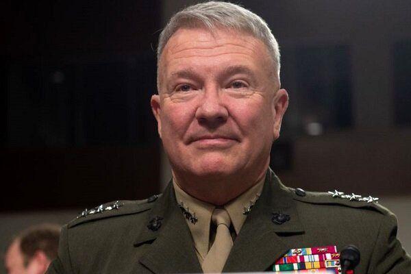 ژنرال مککنزی از مخفیگاهی محرمانه در سوریه:فعلاً اینجا میمانیم!