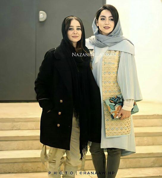 الناز حبیبی و نازنین بیاتی در یک مراسم + عکس