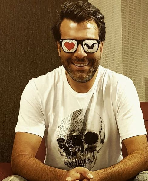 عینک باحال مجید واشقانی + عکس