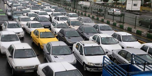 ترافیک سنگین در آزادراه قزوین – کرج