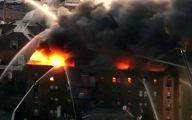 ادامه آتشسوزی در فیلادلفیای آمریکا