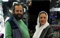 آرامگاه پیام صابری، همسر زیبا بروفه، چهل روز پس از درگذشت /عکس