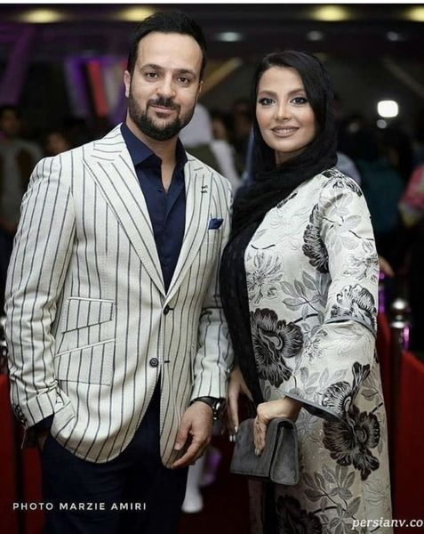 احمد مهرانفر و همسرش + عکس