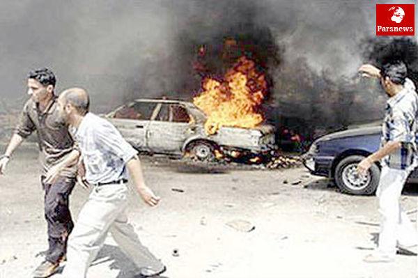 انفجار ۷ خودرو بمبگذاری شده در بغداد