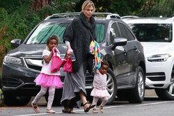 مهاجرت خانم بازیگر از آمریکا به خاطر فرزندانش! +عکس