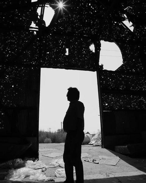 یادگاری پرویز پرستویی از دوران تلخ جنگ در مرز اروند+عکس