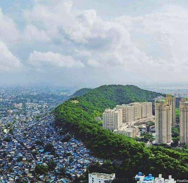 عکس جالب از مرز بین فقیر و غنی در یک نگاه