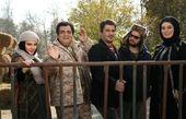 سحر قریشی، بهاره رهنما، رضا ناجی و ... در پشت صحنه «ایکس لارج»/ عکس