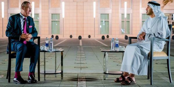 دیدار فرستاده اسرائیل با وزیر خارجه امارات