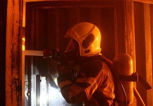 آتشسوزی ساختمان ۱۰ طبقه اداری در جردن
