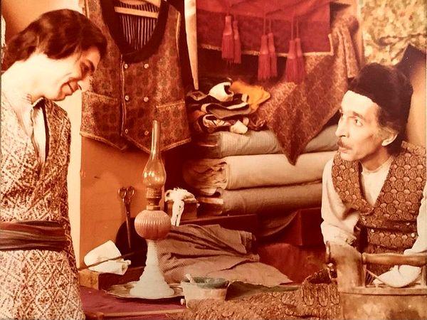 آتیلا پسیانی در مثل آباد + عکس