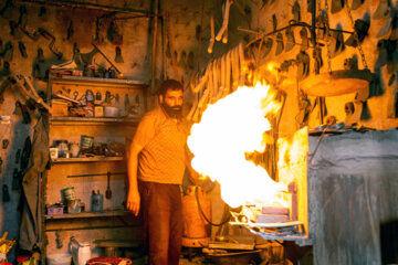 کارگاه سنتی آهنگری «حاجتعلی رحیمی»