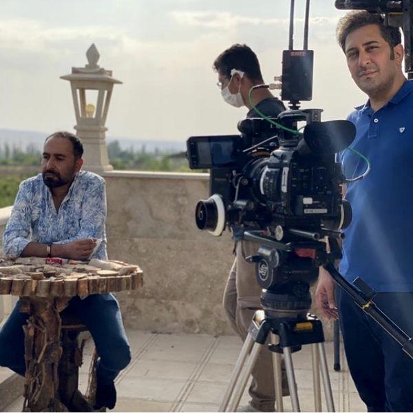 وحید شیخ زاده در پشت دوربین ها + عکس