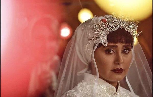 الناز شاکردوست در لباس عروس + عکی